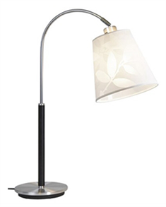Belid Saga bordlampe (alu/sort)