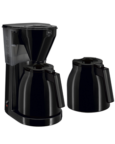 Melitta Easy Therm kaffemaskine sort m/2 kander