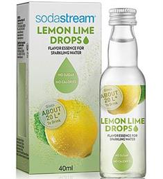 SodaStream frugtdråber (lemon/lime)